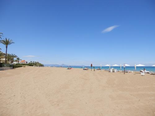 Курортный регион Испании на побережье